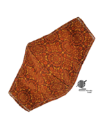 Bronze Face Mask Copper Southwestern Desert Adjustable Cotton Facemask H... - $10.00