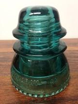 Vintage Hemingray- 42 Aqua Glass Insulator - $9.95