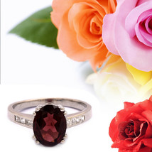 2.80 Ct Genuine Natural Mozambican Garnet 925 Sterling Silver Solitaire ... - $23.49
