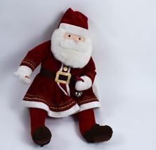 Hallmark The Polar Express Plush Talking Magic Of Xmas Santa With Bell See Video - $29.69