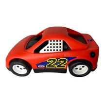 """Little Tikes Race Car Vintage 12"""" Red #22 Toy Vehicle 1990 - $14.01"""
