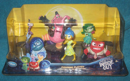 Disney Store. Inside Out 6 Figurine PlaySet. Cake Topper. Brand New. - $22.00