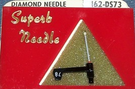 162-DS73 PHONOGRAPH RECORD PLAYER NEEDLE STYLUS used in Astatic 455 457 463 image 2