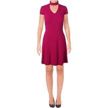 Tahari ASL Womens Petites Mage Cap Sleves Above Knee Party Dress Pink 6P... - $46.27
