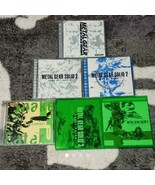 KONAMI METAL GEAR SOLID 2 SONS OF LIBERTY 3 SNAKE EATER Soundtrack CD 6 ... - $110.81