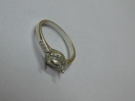 925 sterling Silver mount Ring,Marquise 6X3 mm, RI-0104,ring,all size av... - $8.50