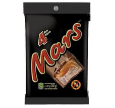 Mars Chocolate Bar (4 Bars) 208 g - FROM CANADA - $18.38
