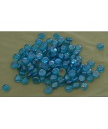 Gently Used Small Batch of Glass Floral Beads,  VERY GOOD COND, GREAT COLOR - $5.93
