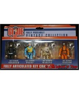 GI JOE Fully Poseable! Vintage Collection FULLY ARTICULATED KEY CHAINS! - $27.23