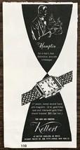 1948 Kelbert Watch Co Print Ad Hampton Wristwatch Timekeeper for a Man's... - $7.82