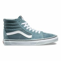 Vans SK8 Hi Goblin Blue/True White Suede Mens Skate Shoes - £50.00 GBP