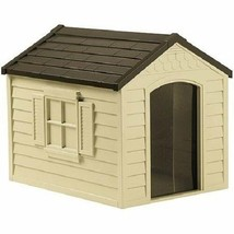 Pets Outdoor Dog Safety Sleeping House w/ Door Patio Decor NEW - $89.85
