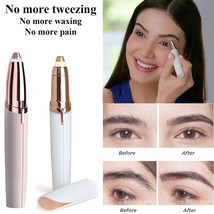 Flawless Women's Brows Painless Trimmer Electric Eyebrow Hair Removal LE... - $9.99