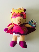 "Disney Junior Muppet Babies Super Fabulous Piggy Plush 6"" BRAND NEW - $9.87"