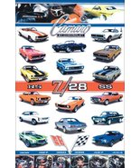 Camaro Z-28 SS RS Models - Options Stand-Up Display - Car Collectibles G... - $15.99