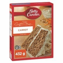 4 PACK Betty Crocker Carrot SuperMoist Cake Mix 432g From Canada FRESH D... - $26.60