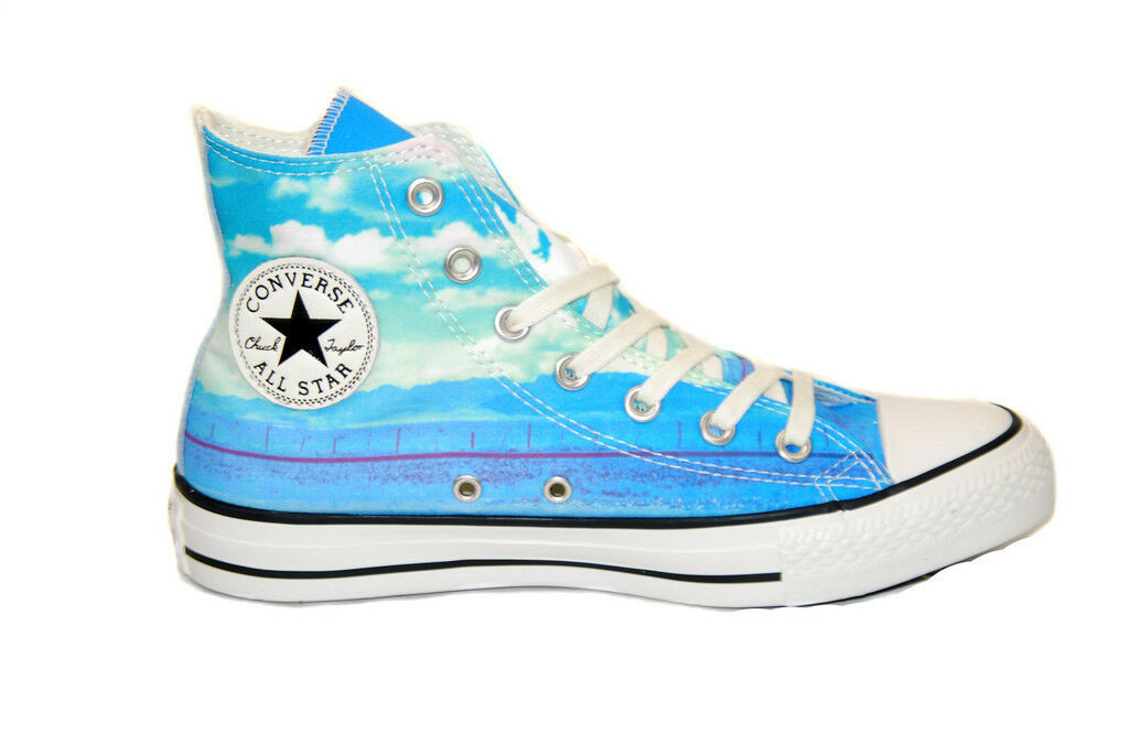 Converse Womens Chuck Taylor All Stars Sneakers Multicolor Size US 5 RRP $83