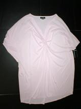 NWT New Designer Natori Night Gown Silky S Satin Sleepshirt Purple Light... - $117.00