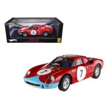 Ferrari 250 LM 12 Hours of Reims 1964 #7 Elite Edition 1/18 Diecast Car ... - $131.00