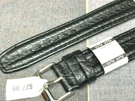 EURO ALFA WATCH BAND GENUINE LEATHER FOR KENNETH COLE DOUBLE HUMP 18MM image 2