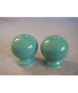 Fiesta Turquoise Round Salt Pepper Set Contemporary  - $19.99