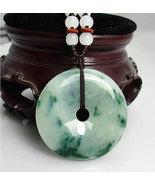 Free Shipping - Amulet auspicious 100%  Natural green jade jadeite Luck ... - $30.00