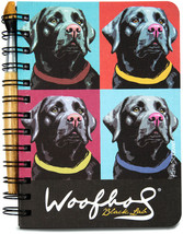 Black Lab Woofhal Journal and Pen Set  - $13.99