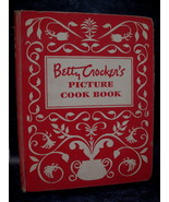 Vintage 1950 Betty Crockers Picture Cookbook Recipes 1st. ED Collector R... - $74.95