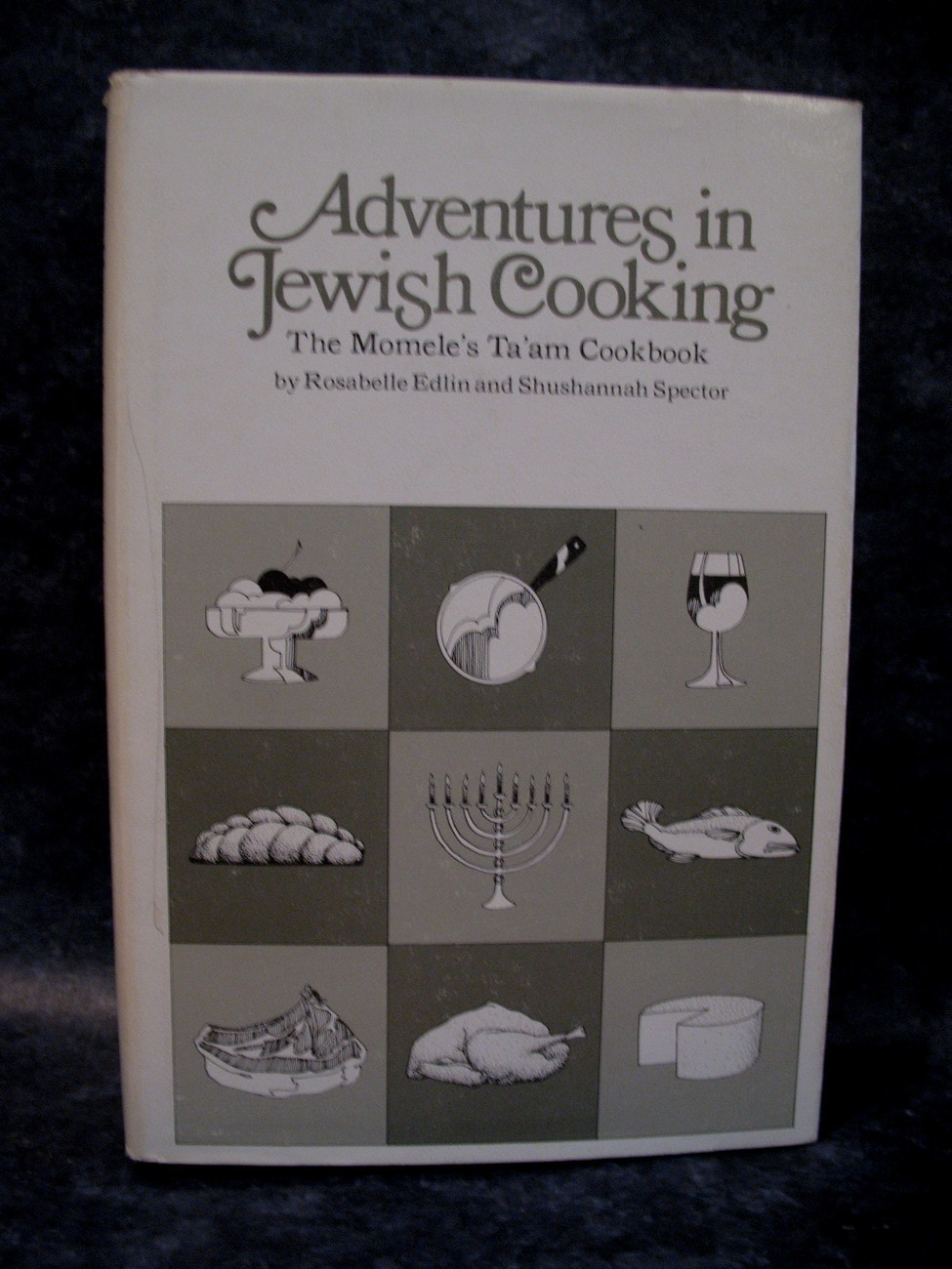 Vintage Cookbook Adventures in Jewish Cooking Momele's Ta'am Cookbook Recipes