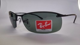 Ray-Ban Active Lifestyle Top Bar RB3183 006/71 Black Frame/Green 63mm NE... - £61.69 GBP