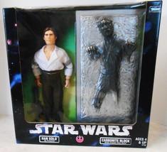 "Star Wars 12"" Han Solo As Prisoner & Carbonite Block w/ Frozen Han Figur... - $30.00"