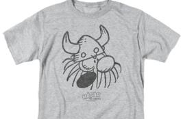 Hagar the Horrible graphic t-shirt Retro American Comic strip gray tee KSF172 image 3