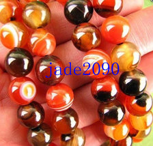 Free Shipping - Tibetan Buddhism 10 mm natural Red Tiger Eye 108 Beads meditatio - $35.99