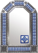 Tin Tile Mirror - $120.00