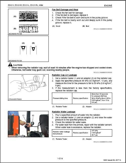Kubota ZD1211 ZD1211R ZD1211L ZD1211RL Zero Turn Mower WSM Service Manual CD