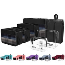 YAMIU Packing Cubes 7-Pcs Travel Organizer Accessories with Shoe Bag & 2... - $559,47 MXN