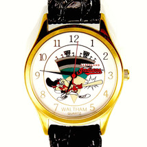 Taz Tasmanian Devil As A Cleveland Indian 'Hitting It Out Of The Park' Watch $85 - $84.00