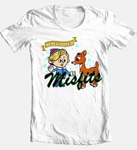 We re a couple of misfits christmas white cotton t shirt for sale online graphic tee thumb200