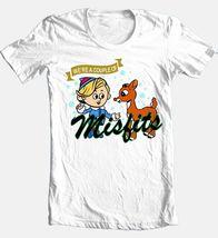 Rudolph Hermey Misfits T-shirt retro 70s 80s Christmas graphic cotton white tee image 1