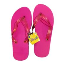 Busykids Flip Flop Pink Girls Kid Slippers Summer Beach Wear - $5.93