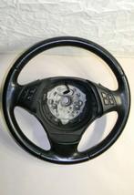 BMW E84 E90 E91 318i 320i 323i 325i 328i 330i 335i X1 Leather Steering Wheel - $97.98