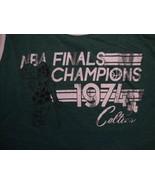 NBA Boston Celtics Basketball Finals Champions 1974 Throwback Tank Top S... - $15.72