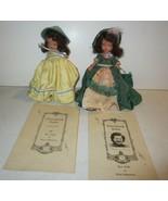 Vintage storybook dolls - $71.25