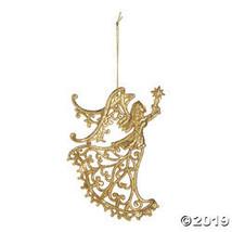 Gold Glitter Angel Ornaments - $30.25