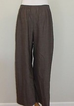 "ESKANDAR Gray Cropped Trouser Pant 24"" Inseam L... - $153.34"