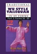 Wu Style Taijiquan Tai Chi Chuan 89 Forms 56-89 #3 DVD Wen Mei Yu Quan Yuo - $22.00