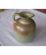 FRANKOMA #833 Vintage Green & Tan Honey Pitche... - $19.99
