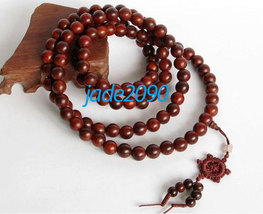 Free Shipping -  Tibetan Buddhism Real Natural red sandalwood meditation yoga 10 - $30.00