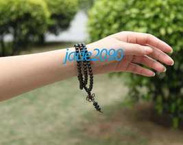 Free Shipping -  Tibetan Buddhism Real Natural black sandalwood meditation yoga  - $19.99