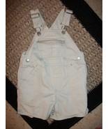 Boy's Old Navy Khaki Shortalls Sz 6-12 Months - $2.15